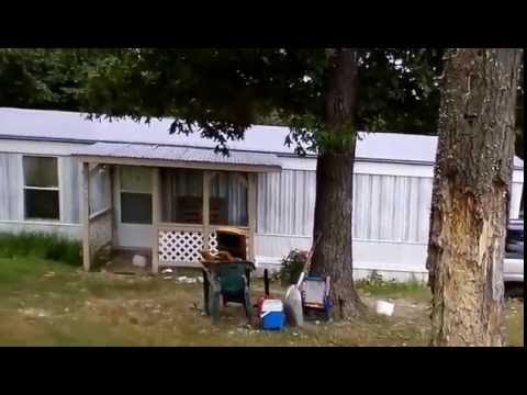 Mobile Home Outside Being Remodeled Youtube