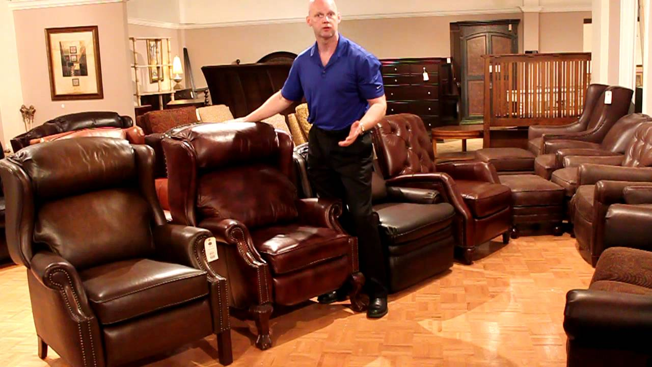 Leather recliners at the heritage furniture outlet in the for V furniture outlet palmdale