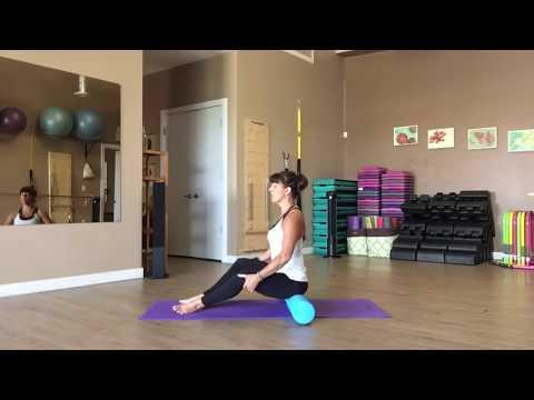 Mat Pilates Foam Roller Flow Part 1 with Fiona Hermanutz