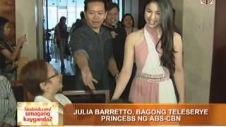 Julia Barretto is ABS-CBN
