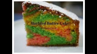 Marbled Butter  Cake ( Results guaranteed)