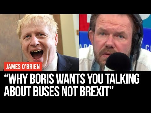 Boris Johnson's Dead Cat Theory Explained - James O'Brien - LBC