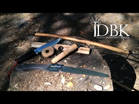 Fallkniven A1 Pro: Making a Friction Fire