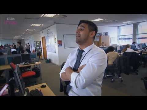 Twe shows off his knickers - The Call Centre - Episode 5 Preview - BBC Three