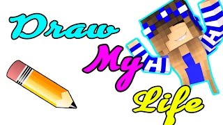 DRAW MY LIFE w/Little Carly | Kelly and Carly Vlogs