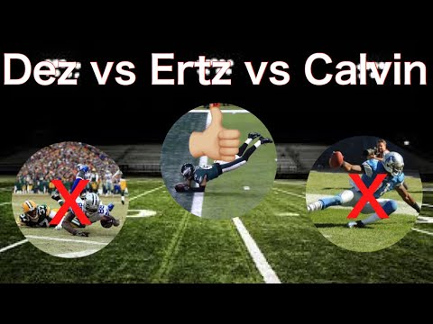 Comparing 3 Potential Game Winning Catches Breaking Down The Catches Off The Rule Book
