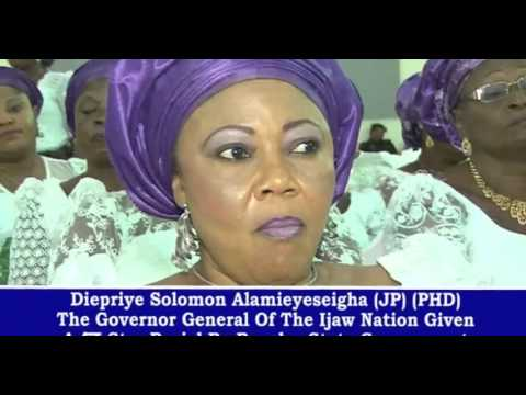 THE GOVERNOR GENERAL OF THE IJAW NATION DIEPRIYE SOLOMON ALAMIEYESEIGHA LAID TO REST