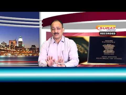 Surat Channel Talk Show - Surat Regional Passport Officer Kumar Nityananda