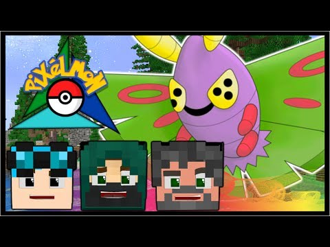 BRAND NEW ISLAND & ZAPDOS SHRINE!! | Pokémon Trinity | Minecraft #38