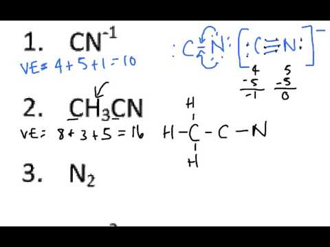 Drawing Lewis structures with double bonds