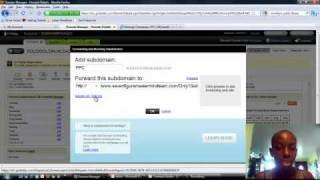 How To Create FREE Subdomains in Godaddy w/ Forward and Masking