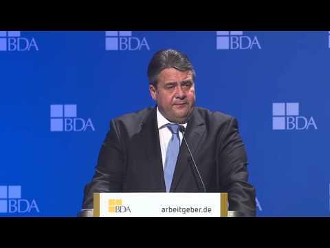 Arbeitgebertag 2015 - Rede von Wirtschaftsminister Gabriel