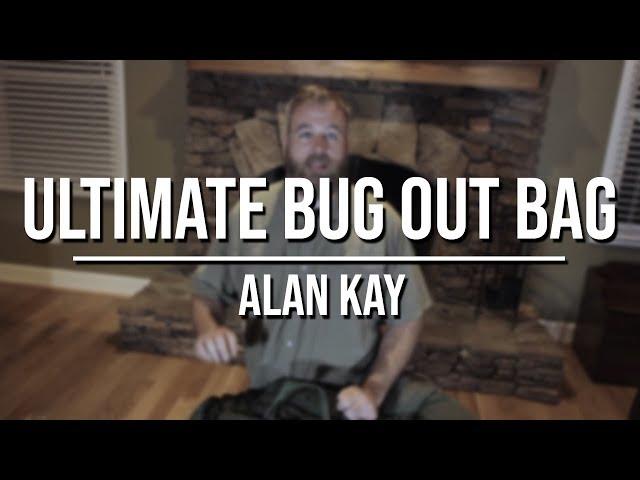 Alan Kays Bug Out Bag - Part 1