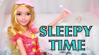 Barbie Disney Dream Princess Aurora Sleeping Beauty Sleepover Party Doll Mattel AllToyCollector
