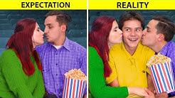Attente VS Réalité Dans Une Relation Amoureuse / 15 Situations Amusantes