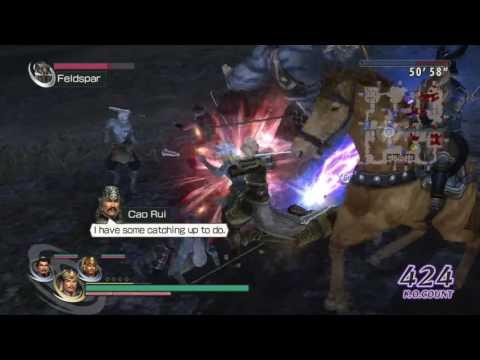 Warriors Orochi 2 - Wei Chapter 8 - Battle of Guan Du   Fire Rat's Skin Treasure Guide