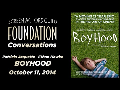 Conversations with Patricia Arquette and Ethan Hawke of BOYHOOD