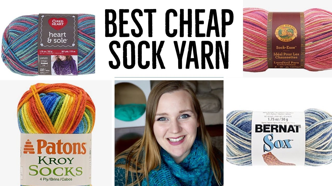 Best Sock Yarn On A Budget You