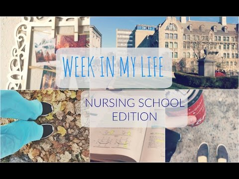 A WEEK IN MY LIFE - NURSING SCHOOL VLOG
