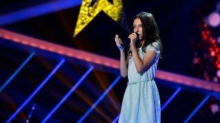 """Leona Lewis - """"Run"""". Vezi cum cântă Delia Mălinici, în Marea Finală!"""