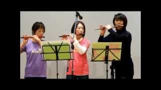 2013年2月24日竹内直子先生の篠笛教室の合同演奏会が愛媛県西条市の丹原...