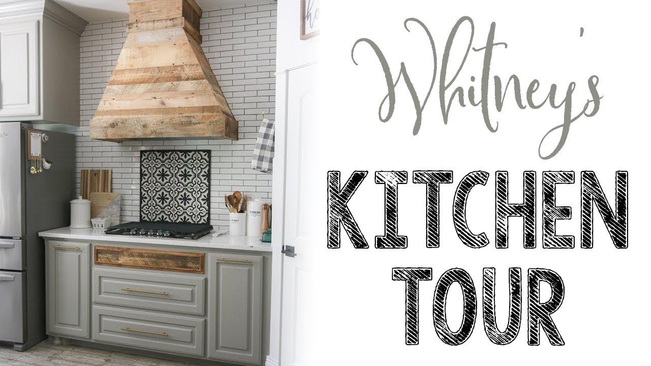 whitneys modern farmhouse kitchen tour - Modern Farmhouse Kitchen