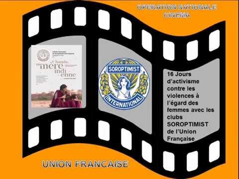 SOROPTIMIST UNION FRANCAISE operation cinema 2016