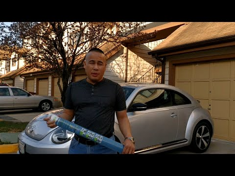 VW/Volkswagen Beetle Turbo How to Install/Replace Windshield Wipers