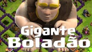 Atacando Full Gigantes Nível 5 / Vai dar Merda - Gigante Boladão Clash of Clans