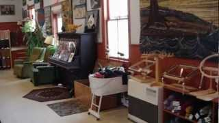 Take a Tour of the Moose River Rug Hooking Studio