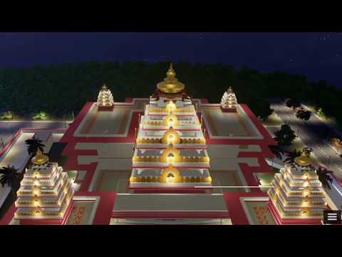 Upcoming ISKCON Temple, Dwarka New Delhi