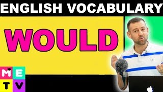 WOULD (ESL Vocabulary)