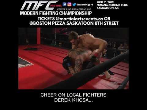 Modern Fighting Championship 3 June 7, 2019 in Saskatoon, SK