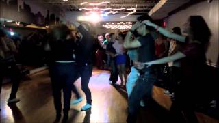 Rafael Angel Farina & Maggie Brukhalo Social Dance at Mr. Mambo