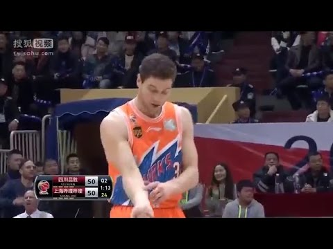 886cdbb3db2 Jimmer Fredette Drops 50 Points in Loss vs Sichuan Blue Whales | Full  Highlights | January 22, 2017
