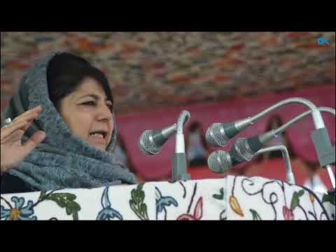 On Sayeed anniversary, Mehbooba bats for dialogue with Pakistan to end bloodshed