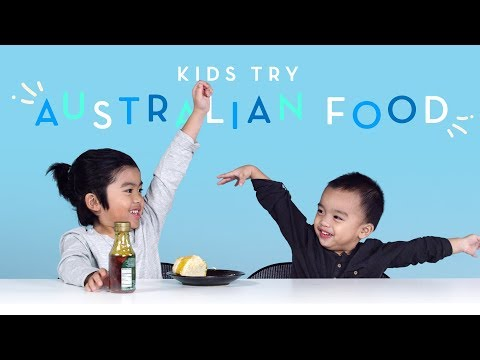 Kids Try Australian Food