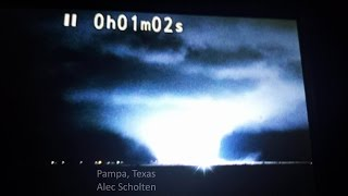 11-16-15 MASSIVE Pampa, Texas WEDGE Tornado & Explosions!