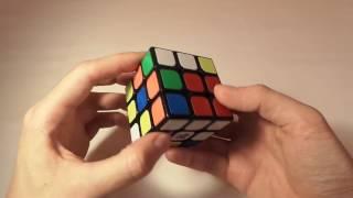 Простой способ собрать кубик Рубика. Видеоурок. Шаг 1 из 6.