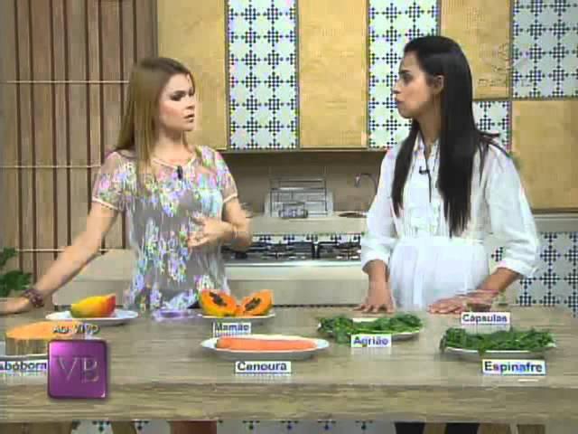 Betacaroteno - Benefícios para o verão - 24/11/2011