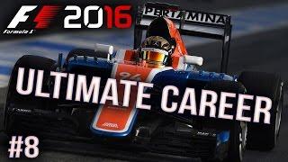 F1 2016 - Ultimate Career - Baku - Lucky Escape