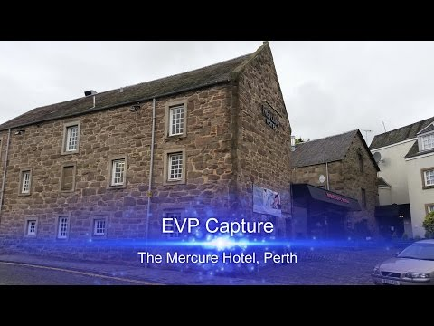 Ghost Voice: EVP with Barry Fitzgerald at Mercure Hotel, Perth
