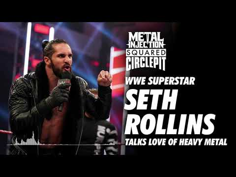 WWE's Seth Rollins Talks Fav. Metal Acts, Bands Becky Lynch Got Him Into | Metal Injection