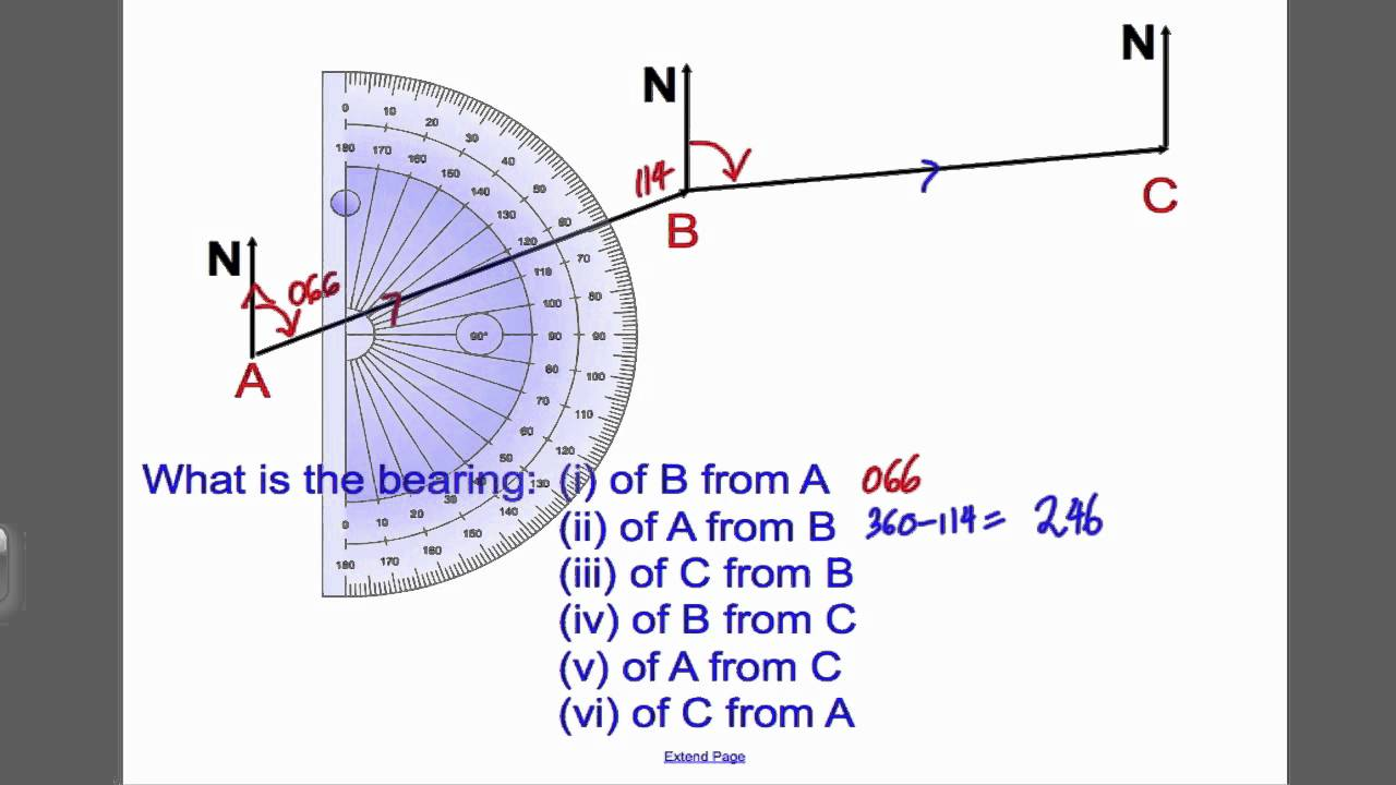 bearings 1 gcse higher maths tutorial 21 youtube. Black Bedroom Furniture Sets. Home Design Ideas
