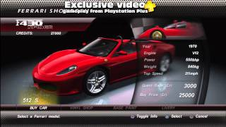 Playstation Plus part 6: Ferrari The Race Experience