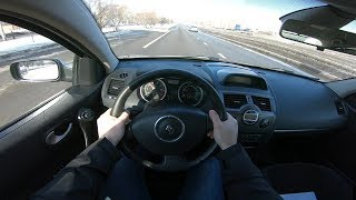 2009 Renault Megane EXTREME 1.6L 115HP POV TEST DRIVE
