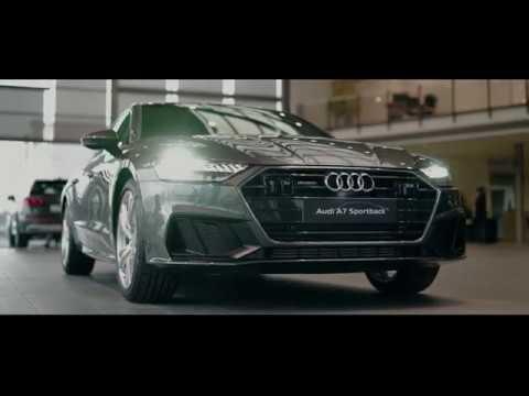 Audi A7 Sportback 2018: Audi Zentrum Bologna - YouTube