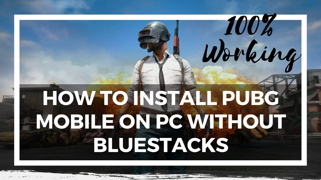 How to Play PUBG on PC for Free [PUBG MOBILE]