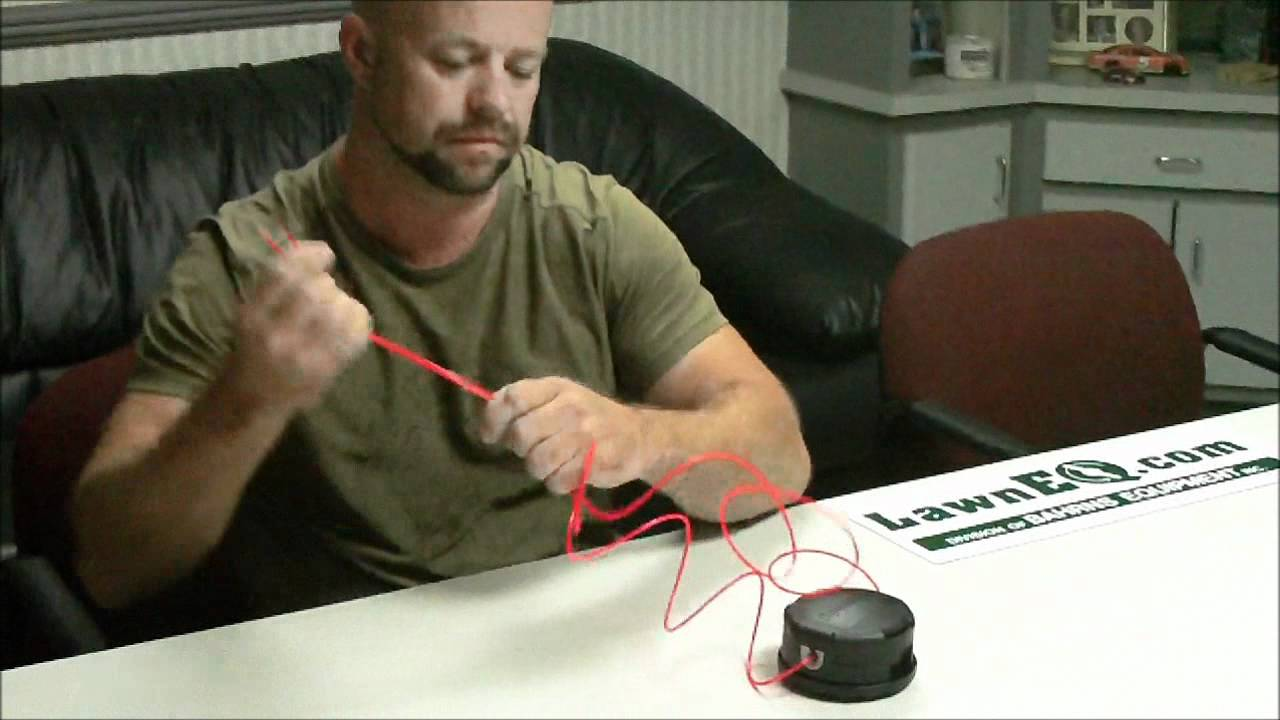 How to Wind Up the String in the Echo Speed Feed Head