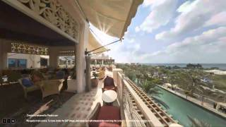 360 Degree Interactive Virtual Tour of Al Qasr, Burj Al Arab & Madinat Jumeirah Dubai